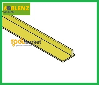Binario alluminio per kit 320 da mt3