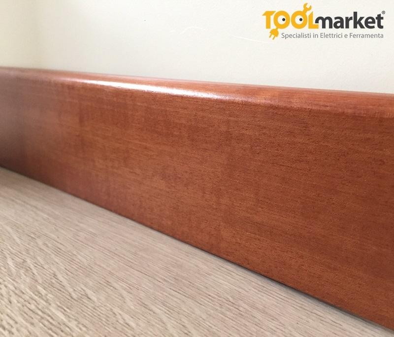 Battiscopa legno 70mm in vari colori