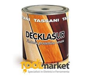 Vernice protettiva cerata Tassani Decklasur lt 1