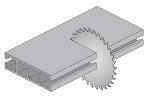 Disco per alluminio 210mm 64 denti