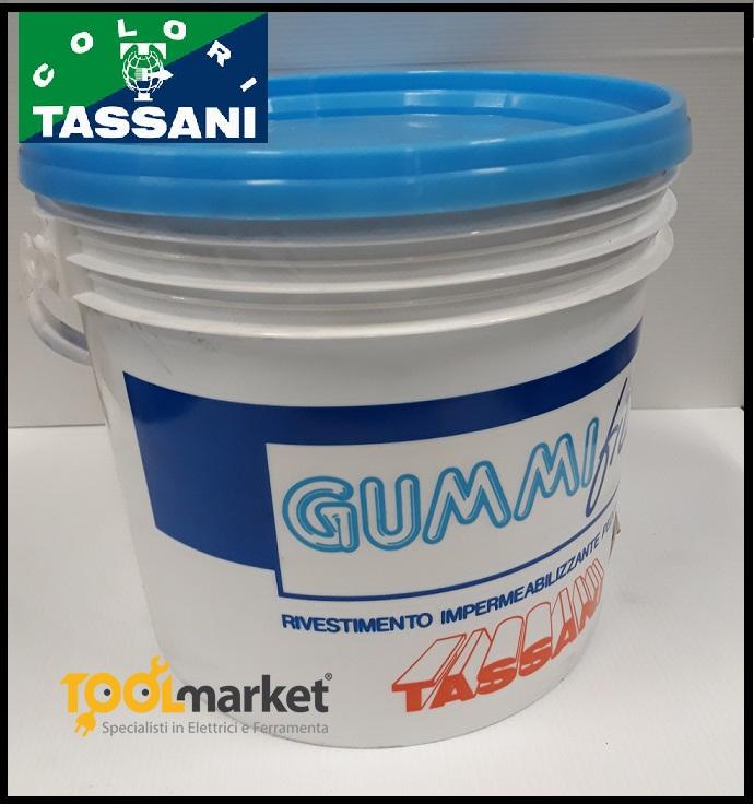 rivestimento elastico impermeabilizzante pedonabile gummifill bianco