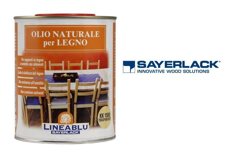 Olio naturale per legno kk1500 per alimenti - SAYERLACK