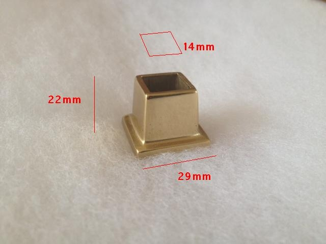 Nodo ottone lucido verniciato BAL2