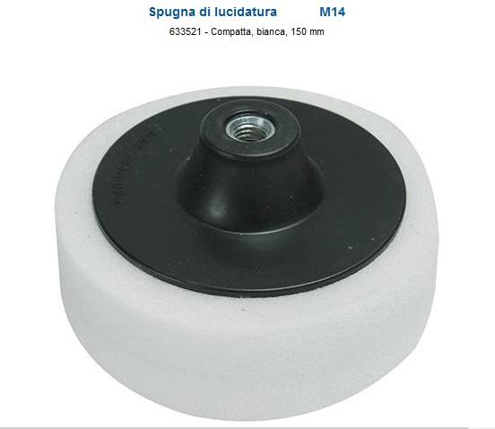 Platorello per  lucidatura  consistenza compatta 150 diametro