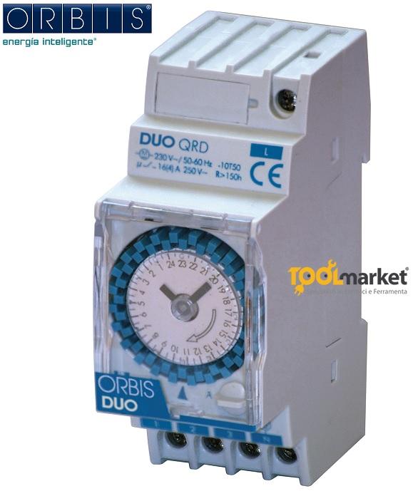 Interruttore orario Orbis Duo QRD