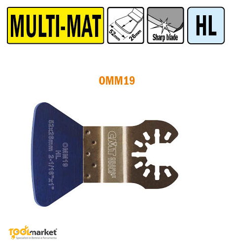 Lama multiutensile OMM19 52mm