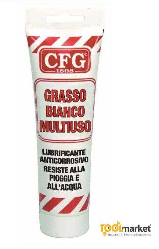 Grasso bianco multiuso lubrificante resistente all'acqua 125ml - CFG