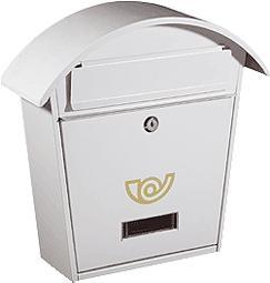 Cassetta postale Chalet col bianco