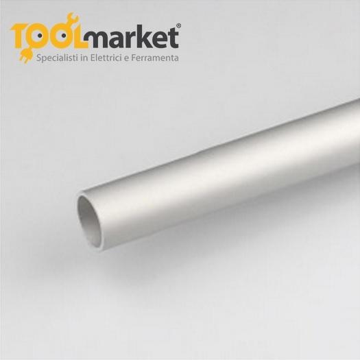 Profilo alluminio tubo Anodizzato argento