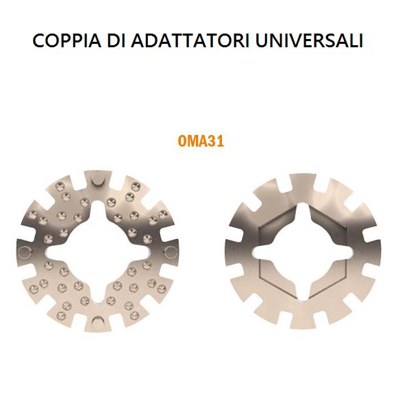 Coppia di adattatori universali OMA31