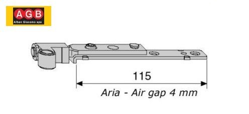 Articolazione a4 seconda anta A401380101