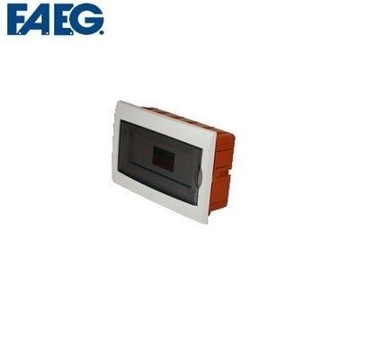 Centralino ad incasso con portello binario DIN estraibile IP40 Faeg