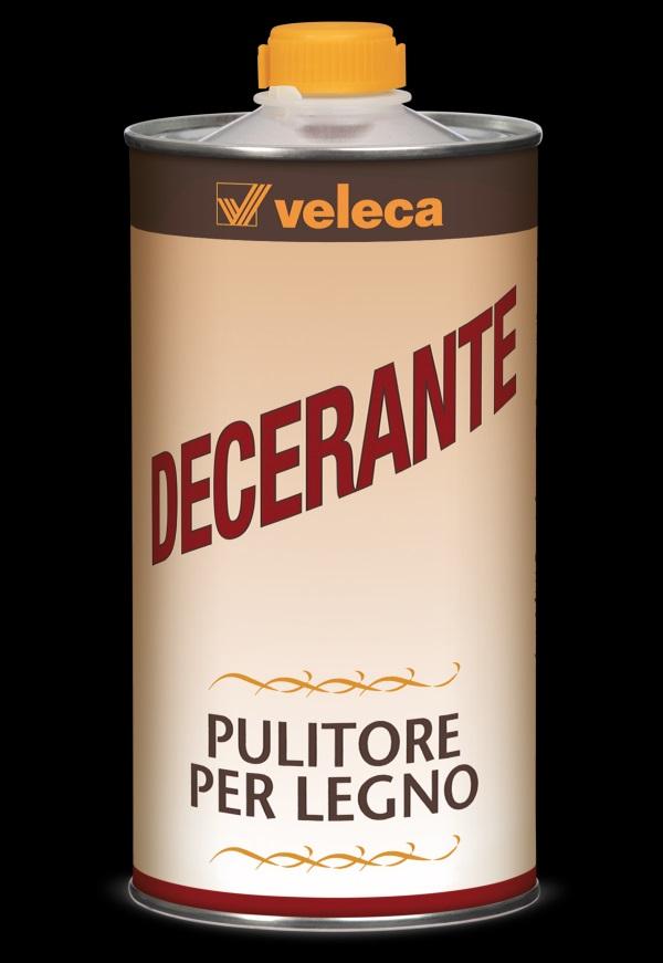 Pulitore e decerante per  legno  VELECA 750 ml