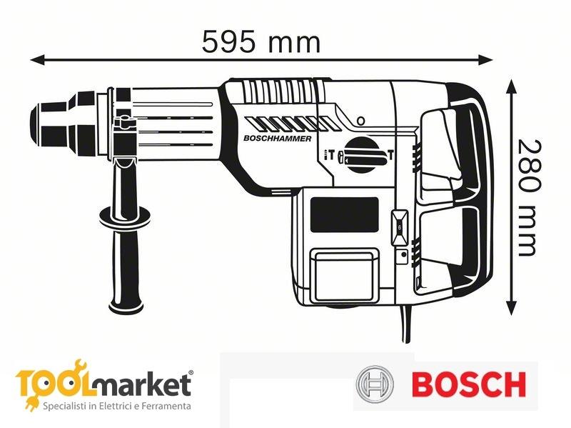 Martello perforatore/scalpellatore GBH 11 DE Professional Bosch