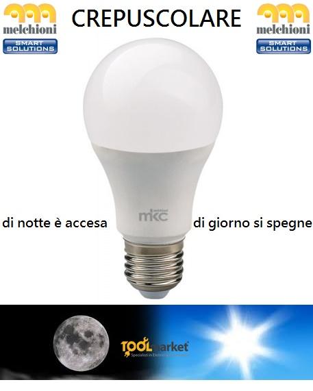 Lampada led crepuscolare 10w