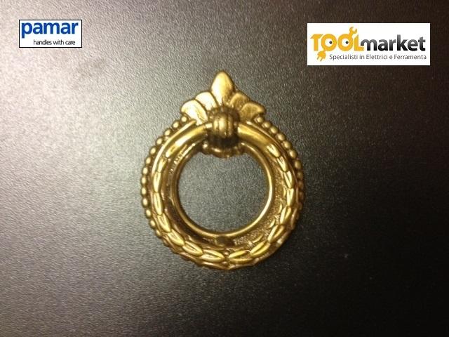 Maniglia 46 oro antico