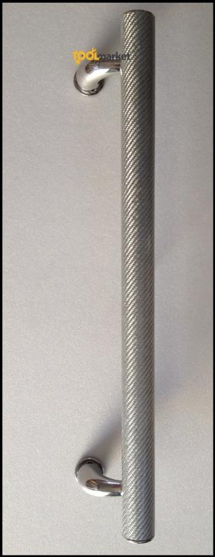 Maniglione in Fibra di carbonio argento