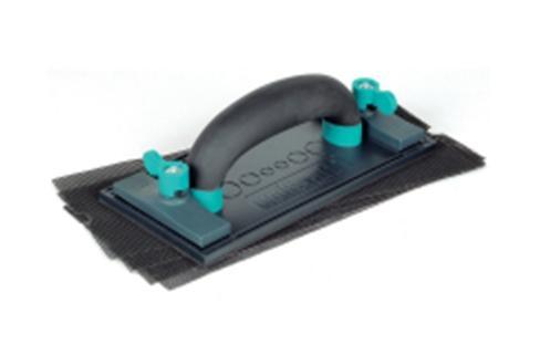Levigatrice manuale per cartongesso + 4 tele reticolari