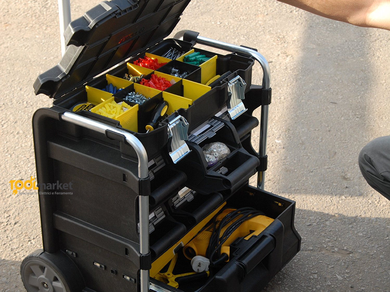 Cassetta portautensili mobile lock stock maxi organizer