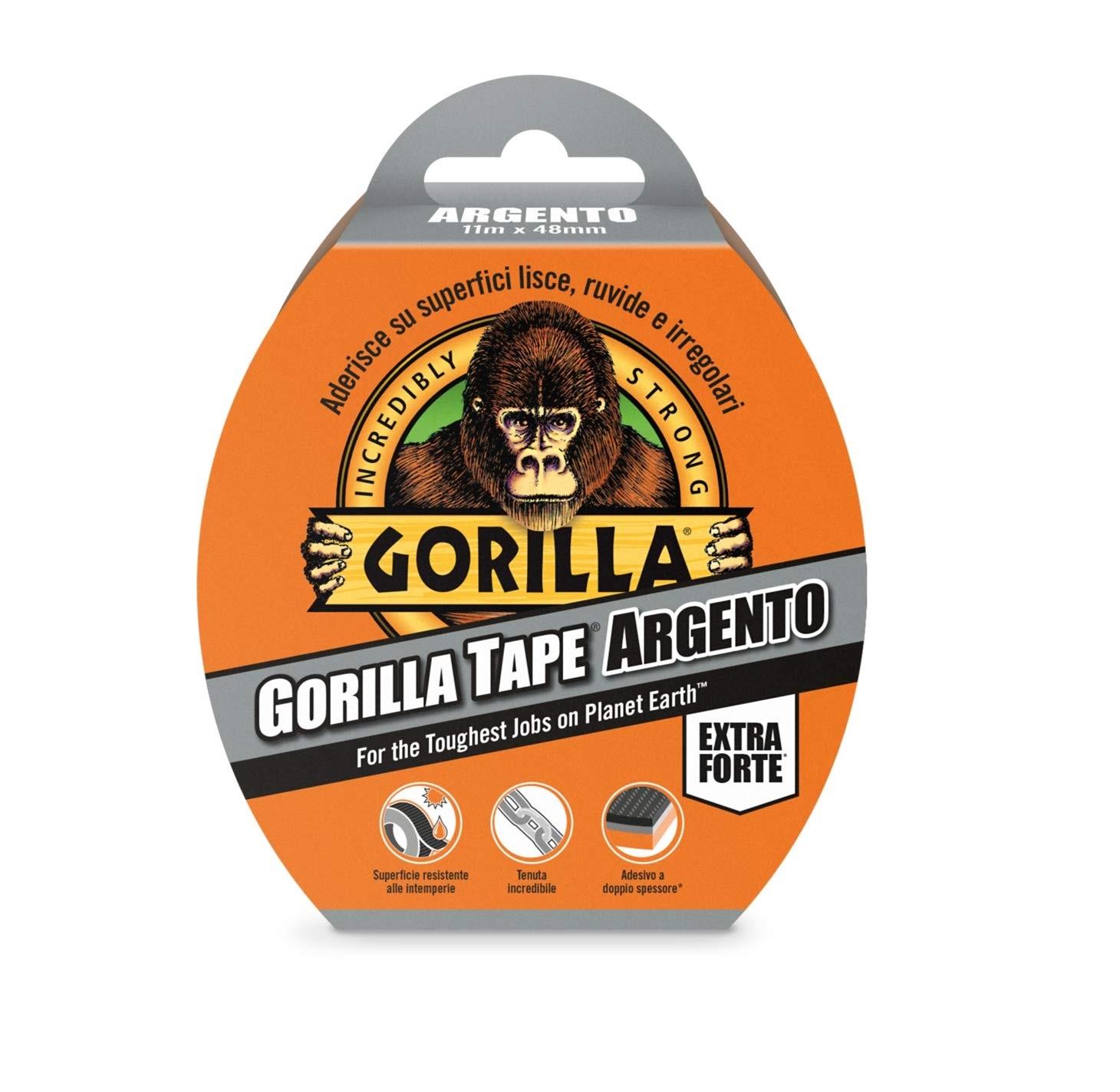 Nastro gorilla aderente a tutte le superfici - GORILLA