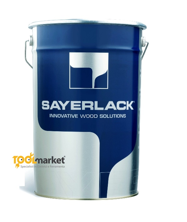 Fondo all'acqua bianco per interni AU0406/13 da lt6 - SAYERLACK