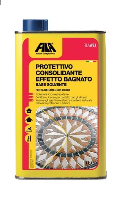Protettivo per pietre effetto bagnato FilaWet lt1