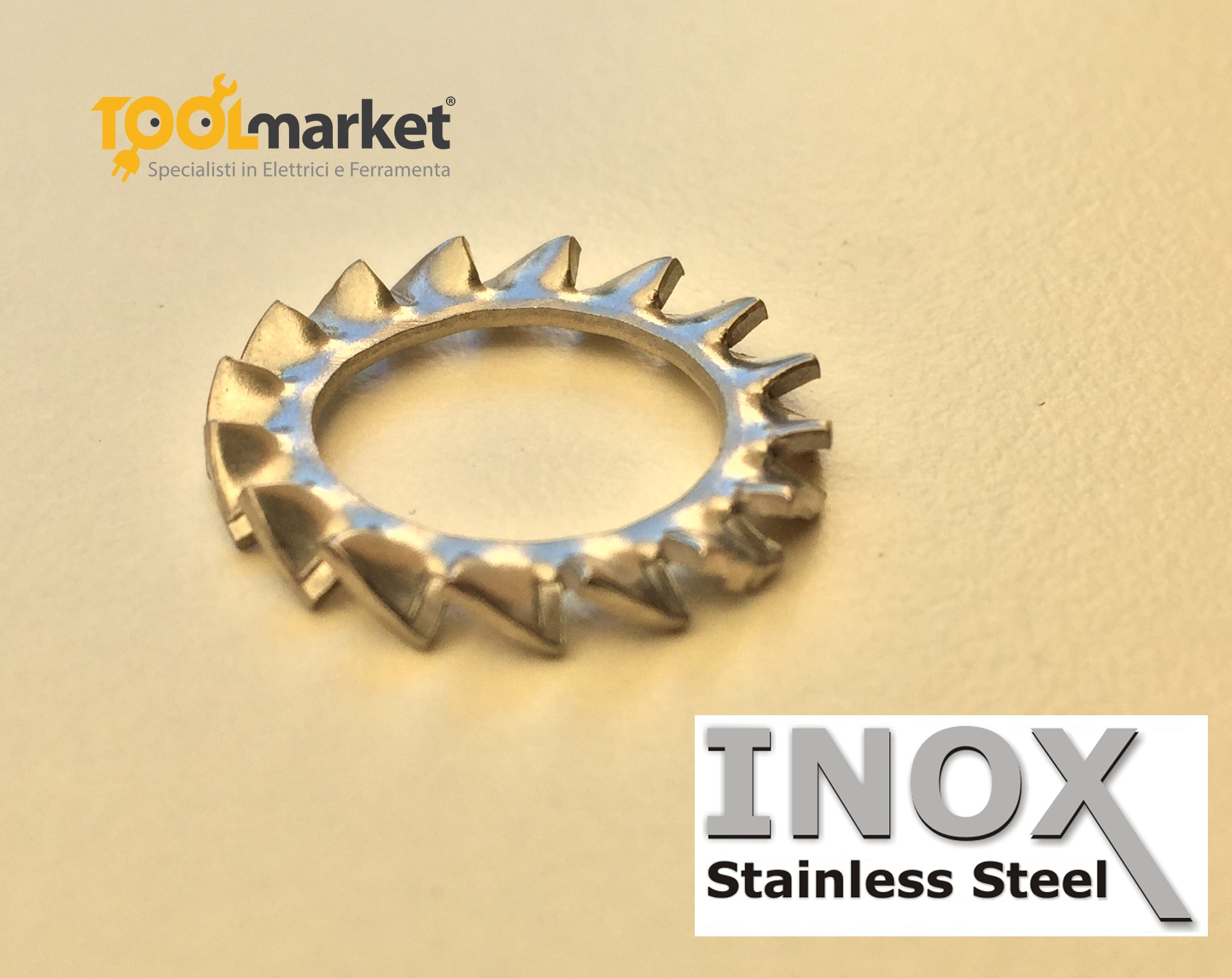 Rondelle dentellate INOX