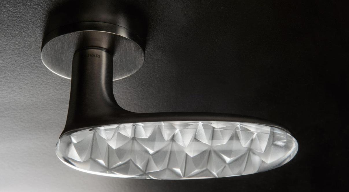 Maniglia Olivari Crystal Diamond