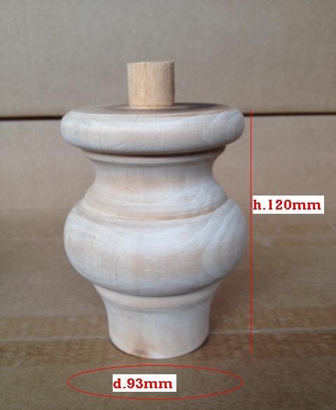 Piede in legno 120x93