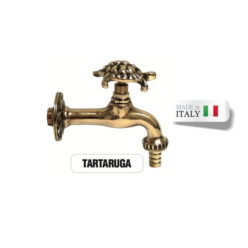 Rubinetto ottone TARTARUGA