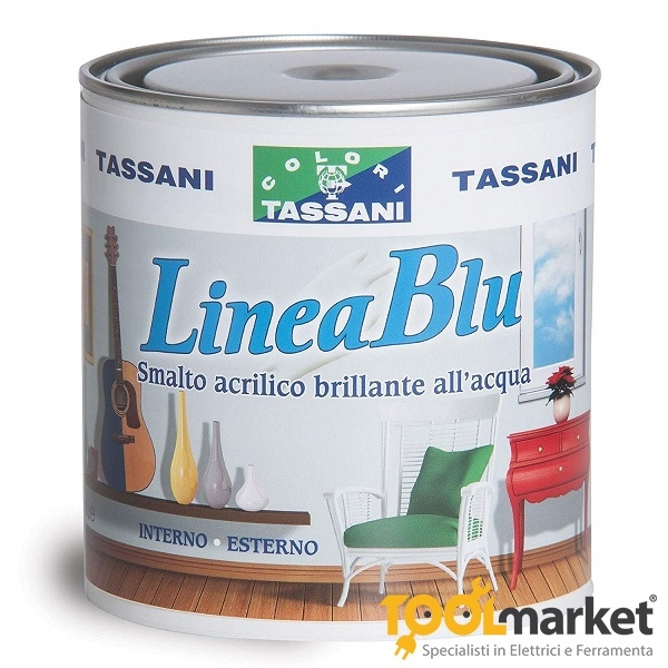 Tassani Linea Blu - Smalto Acrilico all'acqua 2,5lt