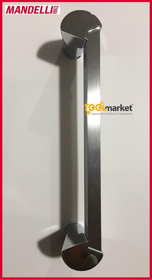 Maniglione Mandelli 1155/d cromo/cromosatinato