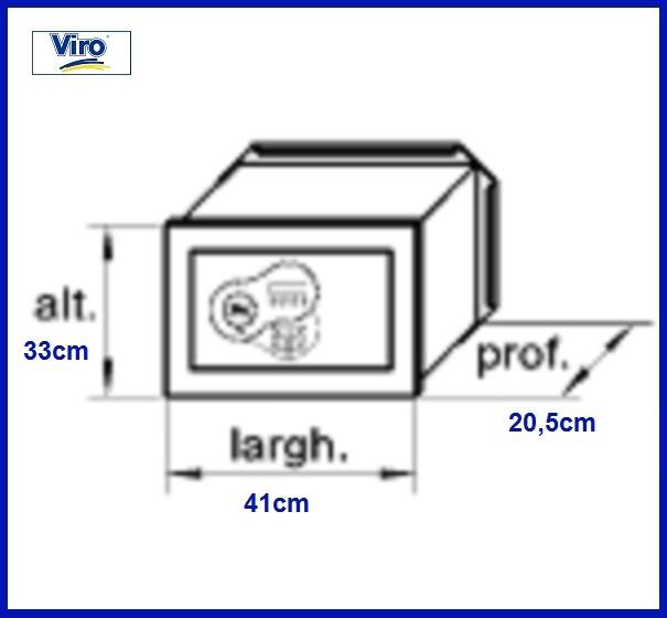 Cassaforte elettronica RAM7