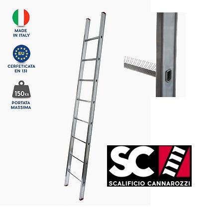 Scala appoggio parallela Cannarozzi