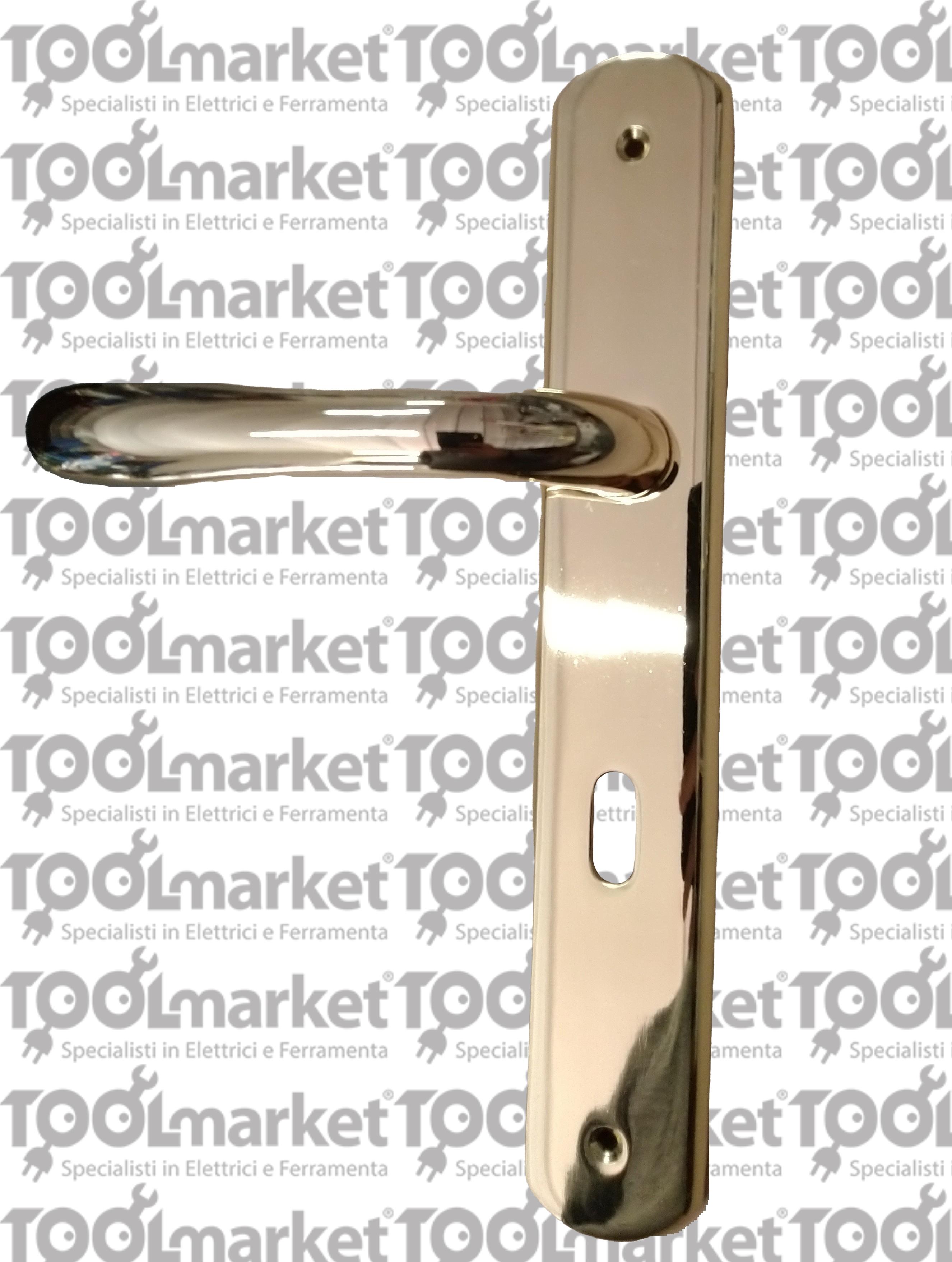 Maniglia con placca interasse 70mm modello Amalfi - TELESE