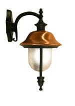 lanterna cappello rame giu