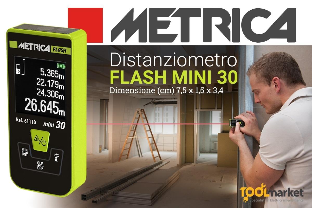 Misuratore laser Metrica Flash mini30