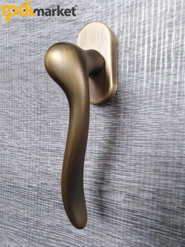 Maniglia DK modello Amalfi bronzo yester Frosio Bortolo