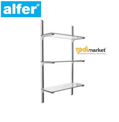 Profilo alluminio Coaxis portamensole 2mt