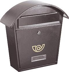 Cassetta postale Chalet col ghisa