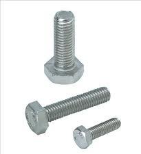 Bulloni testa esagonale diametro 6mm DIN933 acciaio 8.8