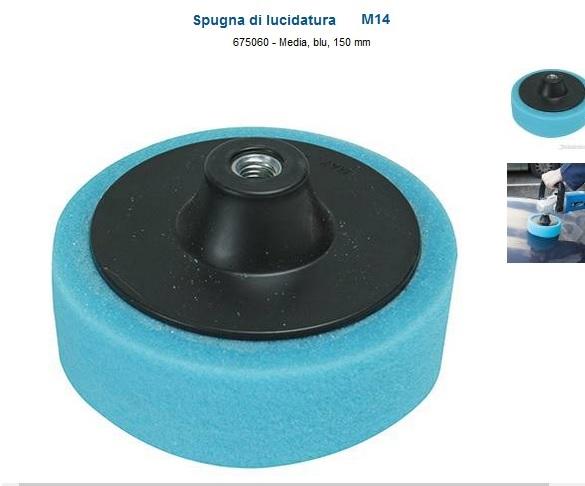 Platorello per  lucidatura  consistenza media 150 diametro