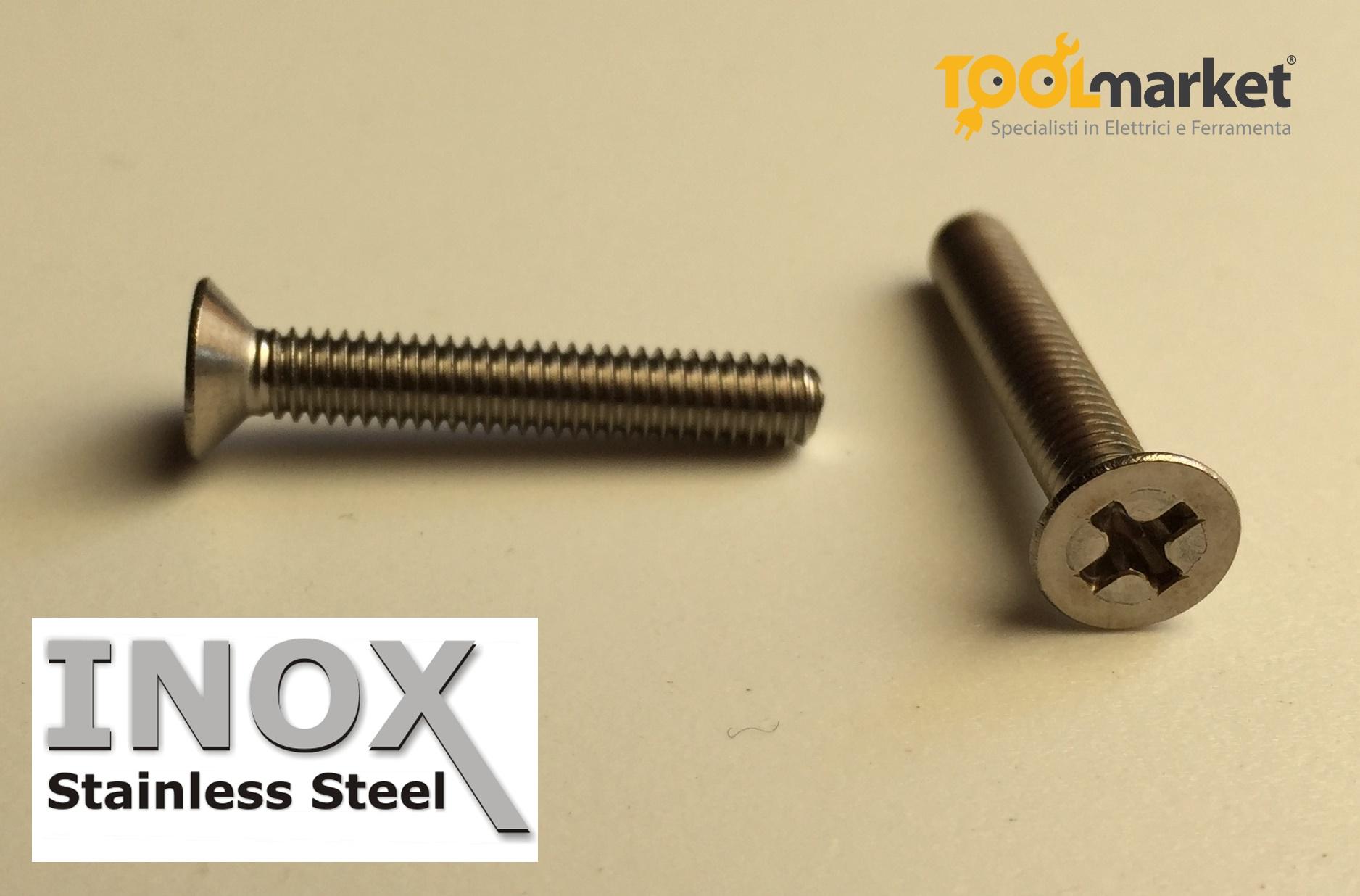 Bulloni TPS INOX diametro 6mm