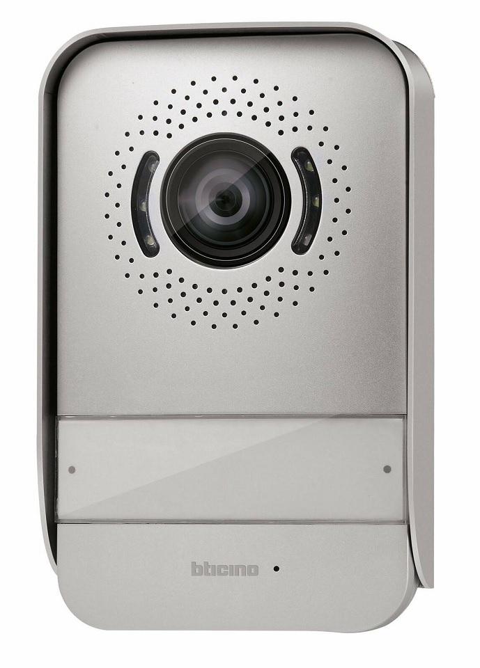 Posto esterno aggiuntivo 331860 per kit Bticino videocitofono