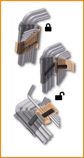 Serie chiavi esagonali maschio
