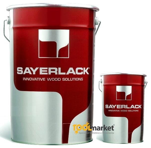 Fondo poliuretanico trasparente TU0001/00 lt1 + TH0805/00 lt0.5 - SAYERLACK